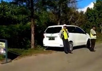 Pemotor Harus Waspada! Bergaya Ala Polisi 2 Banpol Gelar Razia Rutin Ilegal, Panas Dingin Ditanya Korbannya