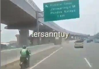 Video Driver Ojek Online Memilih Lewat Jalan Tol,Nyasar Atau Biar Cepet Nih