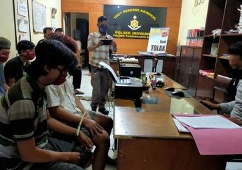 Komplotan Maling Motor di Tasikmalaya Gak Berkutik Dibekuk Polisi, Pelaku Ada yang Masih di Bawah Umur