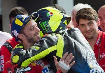 Pernah Senasib, Valentino Rossi Prihatin Nasib Andrea Dovizioso di Ducati