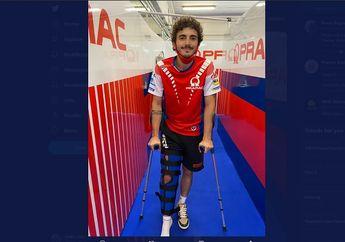 Tidak Bisa Melanjutkan MotoGP Sirkuit Brno Ceko 2020, Begini Kondisi Murid Valentino Rossi