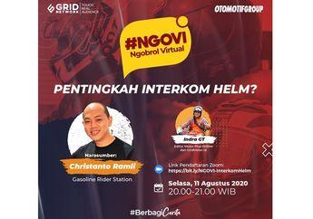 Trend Intercom Helm di Indonesia, Apa Sih Keunggulannya Buat Biker?