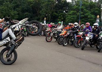 Kece Nih Owner Honda CRF dan Kawasaki KLX Kopdar Gabungan, Anggotanya Gak Nahan Bikers yang Mau Ikutan?