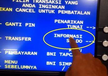 Lihat Saldo ATM Kata Jokowi Bantuan Langsung Tunia (BLT) Cair 1 atau 2 Minggu ini, Bisa DP Kredit Motor Baru
