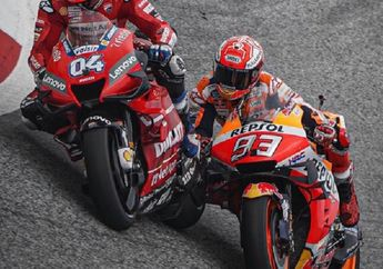 Live Streaming MotoGP Austria, Sirkuit Red Bull Ring Kenangan Buruk Buat Marc Marquez