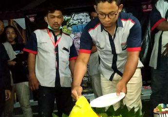 Seru, Komunitas Honda Wave Indonesia Ulang Tahun di Pantai Sawarna
