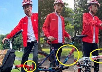 Presiden Jokowi Pose di Atas Sepeda Lipat Custom Kreuz, Harganya Bisa Buat Beli Honda BeAT