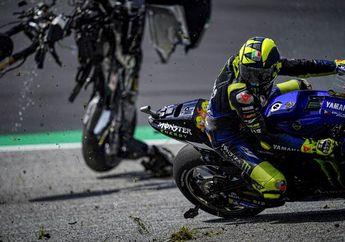 Valentino Rossi dan Maverick Vinales Nyaris Ketiban Motor Di MotoGP Austria 2020, Netizen Flashback Insiden Marco Simoncelli