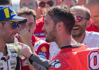 Blak-blakan, Bos Aprilia Tegaskan Andrea Dovizioso Jadi Prioritasnya Jika Andrea Iannone Dikenai Sanksi