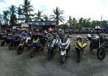 Keren Rayakan HUT Ke-75 RI,  YRFI Bali Bareng 21 Club dan 131 Riders  Gelar Touring Merdeka Hingga Nobar MotoGP