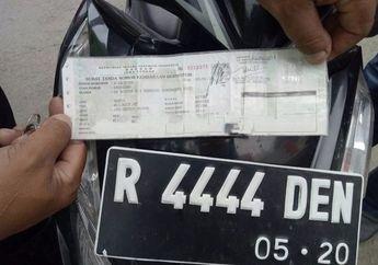 Awas! Jangan Nekat Palsukan STNK dan Pelat Nomor Kendaraan, Ancaman Denda atau Penjara Menunggu