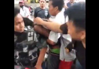 Medan Geger, Begal Sadis Ditangkap dan Dikeroyok Warga, Babak Belur Muka Bonyok Menangis Minta Ampun