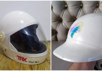 Kids Zaman Now Melongo Helm Legendaris Motor Honda Masih Banyak Dijual, Bentuk dan Desainnya Gak Bisa Dilupain