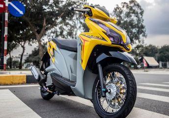 Desainnya Makin Elegan, Modifikasi Honda Vario 125 Penuh Spare Part Hedon