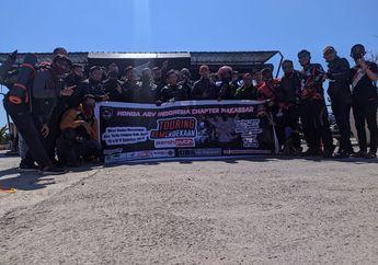 Wuih, Klub Motor Honda ADV Indonesia (HAI) Chapter Makassar Adakan Turing Kemerdekaan dan Baksos ke Desa Konoha