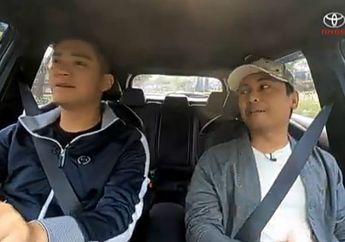 Raditya Dika Nyoba Toyota Corolla Cross di IOOF 2020, Bisa Jalan Tanpa Bensin