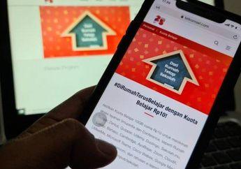 Horee...Subsidi Kuota Gratis 50 GB dari Telkomsel, Internet Murah Meriah 10 GB Cuma Rp 10 Belajar Online Makin Asyik