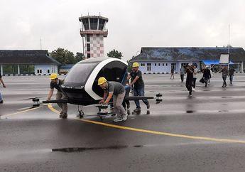Jaminan Bebas Macet, Taxi Drone Uji Coba di Indonesia, Muat 2 Orang Mirip Motor, Gimana Sih Bentuknya?