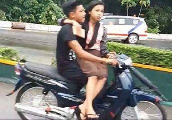 Street Manners: Para Alay Sadarlah! Boncengan Motor Ada Aturannya Menurut Pakar, Jangan Sampai Nyium Aspal