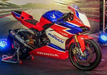 Dibanderol Rp 100 Jutaan, Honda CBR 250RR Racing Version Diluncurkan, Gak Usah Oprek Siap Start Sirkuit