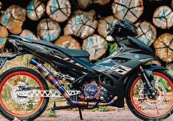 Desainnya Meruncing, Yamaha MX King 150 Makin Agresif dan Menawan Gara-gara Part Ini