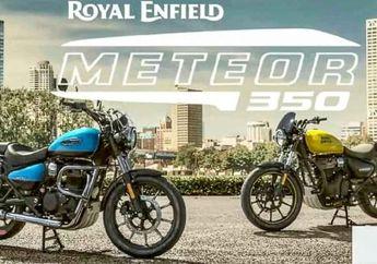 Terbongkar Spek Mesin Motor Retro Royal Enfield Meteor 350, Dijual Rp 30 Jutaan