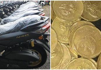 Bikers Geger! 16 Unit All New Yamaha NMAX Bisa Dibeli Pakai Uang Koin Kerokan, Bikin Penasaran