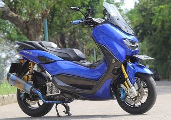 Modifikasi Yamaha NMAX 2020 Bergaya Racing Look, Turing Makin Nyaman