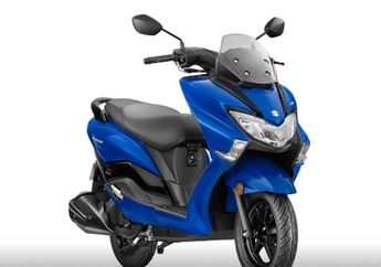 Wuih, Saingan Berat Yamaha NMAX dari Suzuki Dapat Warna Baru, Pernah Hadir di Indonesia