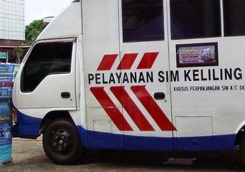 Yang Mau perpanjang SIM, Cek Jadwal Layanan Mobil SIM Keliling Hari Rabu 21 Oktober 2020