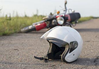 Brak! Pemotor Vega R Tewas Terlindas Ban Truk Di Cianjur, Sopir Langsung Kabur