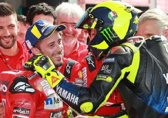Bikin Geger MotoGP, Valentino Rossi Bakal Umumkan Pensiun, Andrea Dovizioso Jadi Penggantinya?