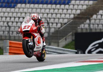 Pembalap Indonesia Andi Gilang Pede Hadapi Moto2 San Marino, Nih Alasannya