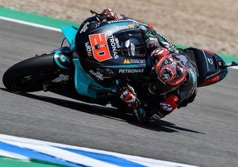 Kerja Keras Fabio Quartararo Sia-sia, Finis Ke-3 di MotoGP Emilia Romagna 2020 Tapi Gagal Naik Podium
