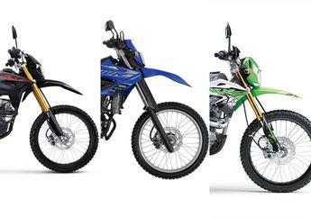 Update Harga Motor Trail 150 Cc Oktober 2020, Kawasaki KLX 150, Honda CRF150L atau Yamaha WR155 R ?