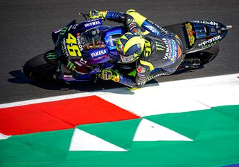 Geger Soal Kabar Pensiun, Valentino Rossi Tebar Ancaman Jelang Balap MotoGP San Marino Nanti Malam