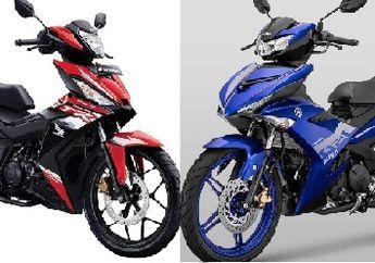 Update Harga Motor Bebek 150 cc September 2020, Murah Mana Honda Supra GTR Dengan Yamaha MX-King ?