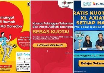 Horeee Sudah Masuk, Begini Cara Cek Bantuan Kuota Internet dari Pemerintah Untuk Semua Provider