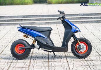 Modifikasi Yamaha Mio Jadi Motor Listrik, Mesinnya Pakai 1.200 Watt
