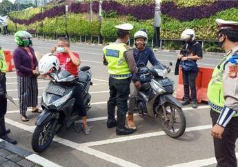 Jangan Sampai Melanggar, Ini Aturan Pemotor Saat Jakarta PSBB Ketat, Dendanya Bikin Dompet Panas Dingin