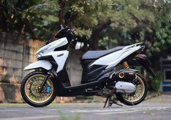 Modifikasi Honda Vario 125 Elegan, Tapi Sparepart-nya Bikin Melotot