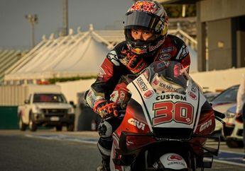 Wuih, Takaaki Nakagami Tes Honda RC213V 2020 Milik Pembalap Pengganti Marc Marquez