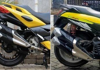Ganas Penampakan Yamaha NMAX dan XMAX Pakai Silencer Knalpot CBR250RR