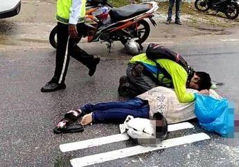 Warganet Auto Mewek, Seorang Pria Menyaksikan Kecelakaan di Jalan Raya yang Ternyata Istrinya Sendiri