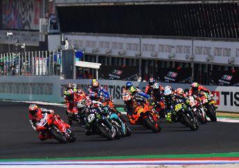 Aneh Tapi Nyata, 7 Pembalap MotoGP DNF di MotoGP Emilia Romagna, Pakai Kompon Ban Depan Sama