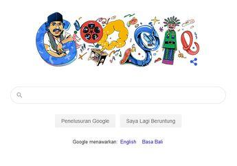 Benyamin Sueb Ada di Google Doodle Hari Ini,  Ternyata Pernah Akting Jadi Tukang Ojek Kocak