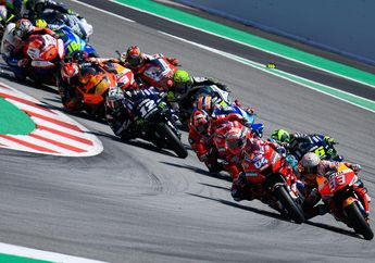 Awas Kelewat! Jadwal MotoGP Catalunya 2020 Mulai Lebih Malam, Nih Alasannya