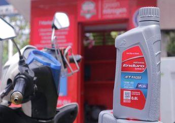 Wow! Oli Motor Enduro 4T Racing Pakai Kemasan Baru, Harganya Cuma Segini