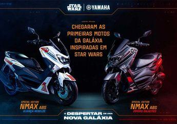 Wuih Yamaha Luncurkan NMAX Edisi Star Wars, Tampilannya Ganteng Banget