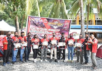 Makin Solid! ARCI Jayapura Sukses Gelar Pelantikan Sekaligus Camping Wisata di Pantai Tablanusu